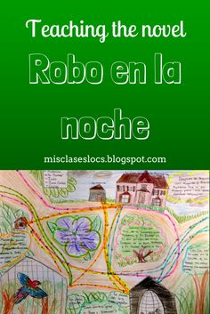 One of the favorite books of the year from Spanish III was Robo en la noche by Kristy Placido. We read it in the past tense as a part of . Learning Spanish For Kids, Spanish Teaching Resources, Ways Of Learning, Spanish Language Learning, Foreign Language, School Resources, French Lessons, Spanish Lessons, Spanish Class