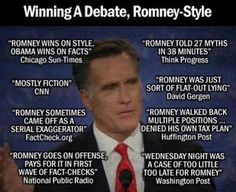Liar wins debate, appeals to his stupid base that believes what he said