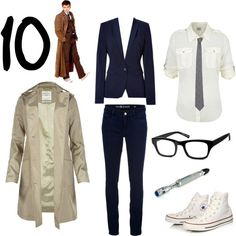 """10th Doctor Outfit"" by keepcalmandgocrazy on Polyvore"