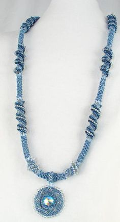Necklace: Netting and Cellini Spiral