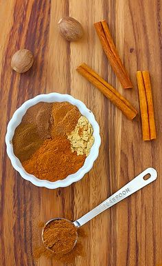 Whip up a batch of pumpkin pie spice for your holiday treats.  www.titanoutletstore.com