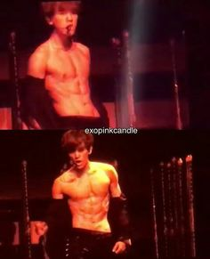 BYUN BAEKHYUN FUCKING DID IT HE DID IT PEOPLE THAT IS HIS ABS WE HAVE BEEN WAITING YEARS FOR