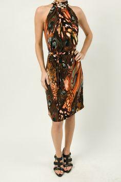 Peacock Cleo Dress $108 http://www.shopmapel.com/products.html?productId=26981