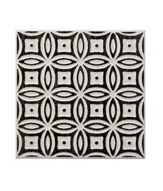 Batik Pattern Black Tile | Topps Tiles