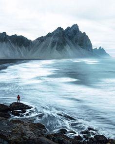 self portrait. blue hour. stokksnes. iceland. I do so very much miss this place. / 500px )