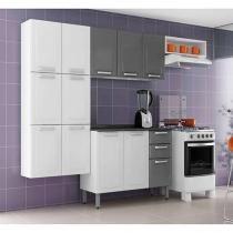 Cozinha Compacta Itatiaia Luce - 9 Portas + Balcão com Tampo 3 Portas 2 Gavetas