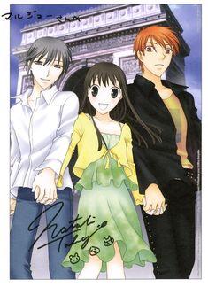 Kyo, Tohru and Yuki, Fruits Basket