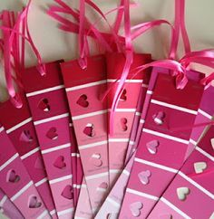 Valentine's Day Crafts - Bookmarks