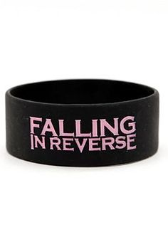 Falling in reverse rubber bracelet  I want this <3