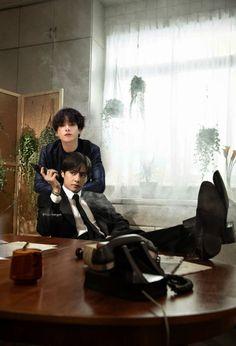 """don't mess with taekook, they said. Bts Jungkook, Namjoon, Taekook, Foto Bts, Bts Photo, J Hope Tumblr, Bts Love, Bts Pictures, Photos"