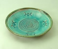 Goddess HECATE HEKATE  WHEEL  Offering Bowl. $19.75, via Etsy.