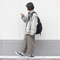 Korean Outfits, Retro Outfits, Mode Outfits, Cute Casual Outfits, Vintage Outfits, Fashion Outfits, Fashion Hacks, Fashion Tips, Fashion Moda