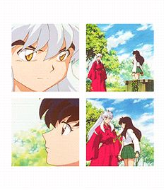 InuYasha and Kagome gif - InuYasha screenshot
