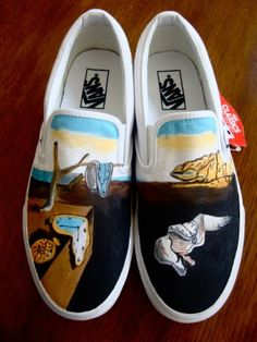 Old Shoes with a Dali Makeover