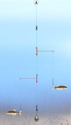 Fishing Tandem Pickeral Rig