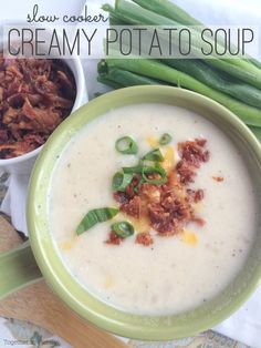 ... slow cooker creamy potato soup slow cooker creamy potato soup made