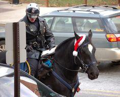 Holiday patrol Bethlehem Mounted Police