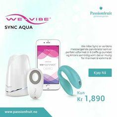 we-vibe Sync Aqua Gliders, Aqua, Phone, Salt, Water, Telephone, Mobile Phones