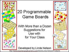 20 different game boards to program with the skills your own students need to practice today! Includes rules for 3 formats for play, and more than a dozen ideas for programming.  $