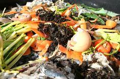 Kompost er en smart ting av (minst) to grunner: for det første produserer du…