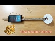 How to Make a simple Metal Detector Machine Diy Crafts Butterfly, Metal Detektor, Metal Detecting Tips, How To Make Metal, Electronic Circuit Design, Gold Detector, Electrical Projects, Cool Science Experiments, Phone Hacks