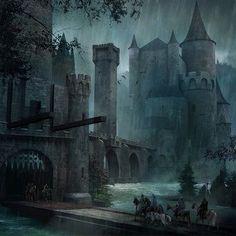 fantasy art, castle - Google Search