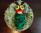 Newborn Caterpillar Cocoon Set lll The Very Hungry Caterpillar. $48.00, via Etsy.