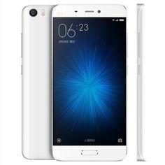 XiaoMi Mi5 5.15 pulgadas MIUI 7 3D Vidrio 4G Smartphone Snapdragon 820 64bit Cuadrángulo 1.8GHz Identificación de la huella digital 3GB RAM 32GB ROM 16.0MP Cámara trasera Tipo-C NFC Huella digital Sensor para Vender - La Tienda En Online IGOGO.ES