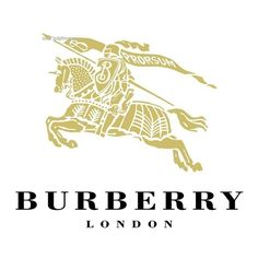 Burberry Logo ❤ liked on Polyvore