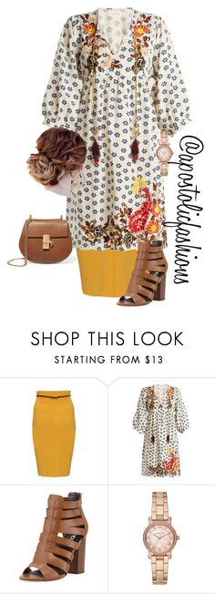 """""""Apostolic Fashions #1783"""" by apostolicfashions ❤ liked on Polyvore featuring Velvet by Graham & Spencer, Circus by Sam Edelman, Michael Kors and Chloé"""