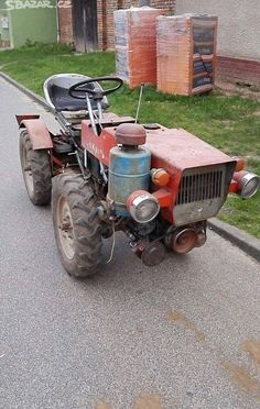 Agriculture Machine, Small Tractors, Work Train, Riding Lawn Mowers, Suzuki Jimny, Outdoor Tools, Toyota Tundra, Artisanal, Lawn And Garden