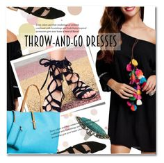 """""""Easy Peasy: Throw-and-Go Dresses"""" by svijetlana ❤ liked on Polyvore featuring easypeasy, polyvoreeditorial and twinkledeals"""