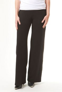 The Classic Black Wide Leg Pant is perfect for every occasion