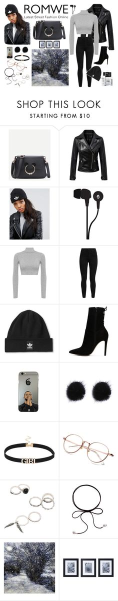 """""""ROMWE bag #2"""" by rowanadow ❤ liked on Polyvore featuring adidas, Skullcandy, WearAll, Levi's, Topshop, ALDO and Mikasa"""