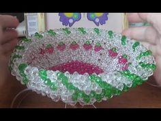 Бисероплетение Шикарная ваза из бусин Рукоделие. - YouTube