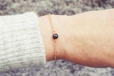 Hematite Bracelet | Single Bead Bracelet | Rose Gold Bracelet | Healing Bracelet Handmade Bracelets, Beaded Bracelets, Hematite Bracelet, Healing Bracelets, Men Necklace, Anklet, Swarovski Crystals, Rose Gold, Gemstones