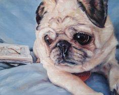 Pet Portrait Oil Paintings by Darlene Pucillo