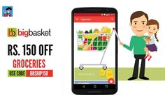 It's Monday Are Your Grocery Baskets Filled? Else Get Herewww.shoppirate.in/view/bigbasket #ShopFromHome#SaveWithPirate #India #Saving #Coupon #Grocery #Food #Home #Kitchen