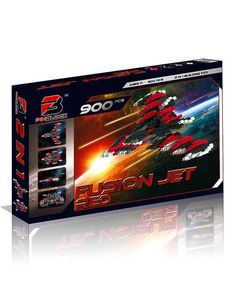 Look at this Pinblock Red Fusion Jet Building Kit Building Toys, Love Is All, Walmart Shopping, Your Design, Jet, Products, Beauty Products