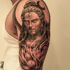 Did this #shiva piece on the brother Ankit. This was the last piece done in…