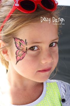 Amazing Kids' Face Painting Ideas by Christy Lewis #facepaintingideas