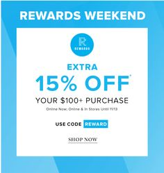 Hudsons Bay Canada New Promo Code: Save an Extra 15% Off Your $100 Purchase http://www.lavahotdeals.com/ca/cheap/hudsons-bay-canada-promo-code-save-extra-15/136824