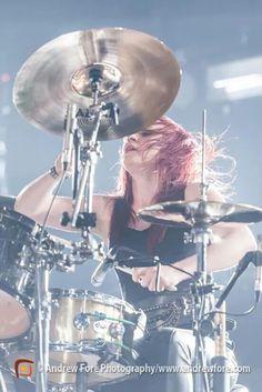 Jen ledger drummer for skillet