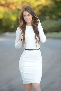 This dress! So classy