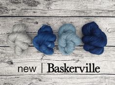 kettleyarnco.co.uk new indigo dyed Exmoor Blueface/Gotland/Silk blend - Yummy!