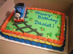 A lot of good train-themed cake ideas! | Thomas The Train Birthday Cake Ideas