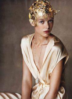 JULIEN D'YS for US Vogue December 2011 by Patrick Demarchelier