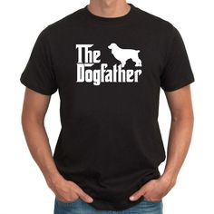 The Dogfather Boykin Spaniel T-Shirt by Teeburon on Etsy