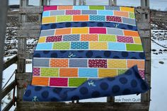 Sew Fresh Quilts: KYSS Me by the Garden Wall {Redo}