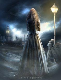 Ghostly Shadows Everywhere - Ana Fagarazzi